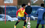 SOUTHAMPTON, ENGLAND - DECEMBER 03 : Diamond Edwards  during Southampton U18s training session at Staplewood Complex on December 03, 2020 in Southampton, England. (Photo by Isabelle Field/Southampton FC via Getty Images)
