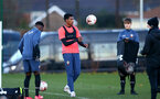 SOUTHAMPTON, ENGLAND - DECEMBER 03 : Jeremi Rodriguez during Southampton U18s training session at Staplewood Complex on December 03, 2020 in Southampton, England. (Photo by Isabelle Field/Southampton FC via Getty Images)