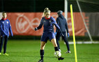 SOUTHAMPTON, ENGLAND - DECEMBER 09 : Kelly Fripp during Southampton Women's training session at Staplewood Complex on December 09, 2020 in Southampton, England. (Photo by Isabelle Field/Southampton FC via Getty Images)  (Photo by Isabelle Field/Southampton FC via Getty Images)