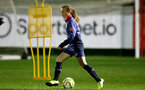 SOUTHAMPTON, ENGLAND - DECEMBER 09 : Emily Castagna during Southampton Women's training session at Staplewood Complex on December 09, 2020 in Southampton, England. (Photo by Isabelle Field/Southampton FC via Getty Images)  (Photo by Isabelle Field/Southampton FC via Getty Images)
