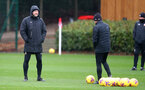 SOUTHAMPTON, ENGLAND - DECEMBER 28: Ralph Hasenhüttl during a Southampton FC training session at the Staplewood Campus on December 28, 2020 in Southampton, England. (Photo by Matt Watson/Southampton FC via Getty Images)