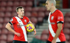 SOUTHAMPTON, ENGLAND - DECEMBER 29: James Ward-Prowse of Southampton during the Premier League match between Southampton and West Ham United at St Mary's Stadium on December 29, 2020 in Southampton, England. (Photo by Matt Watson/Southampton FC via Getty Images)
