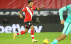 SOUTHAMPTON, ENGLAND - JANUARY 04: Ryan Bertrand of Southampton during the Premier League match between Southampton and Liverpool at St Mary's Stadium on January 04, 2021 in Southampton, England. (Photo by Matt Watson/Southampton FC via Getty Images)