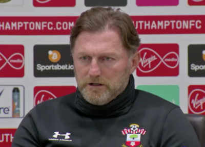 Press Conference (part two): Hasenhüttl previews Arsenal clash