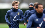 SOUTHAMPTON, ENGLAND - FEBRUARY 01: Stuart Armstrong during a Southampton FC training session at the Staplewood Campus on February 1st, 2021 in Southampton, England. (Photo by Matt Watson/Southampton FC via Getty Images)