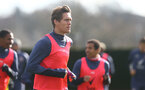 SOUTHAMPTON, ENGLAND - FEBRUARY 05, Jannik Vestergaard during a Southampton FC training session at the Staplewood Campus, on February 05, 2021 in Southampton, England. (Photo by Matt Watson/Southampton FC via Getty Images)