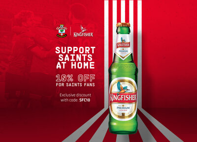 Exclusive offer on Kingfisher Beer
