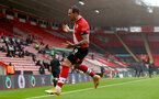 SOUTHAMPTON, ENGLAND - FEBRUARY 14: Danny Ings of Southampton goal celebration during the Premier League match between Southampton and Wolverhampton Wanderers at St Mary's Stadium on February 14, 2021 in Southampton, England. Sporting stadiums around the UK remain under strict restrictions due to the Coronavirus Pandemic as Government social distancing laws prohibit fans inside venues resulting in games being played behind closed doors. (Photo by Matt Watson/Southampton FC via Getty Images)