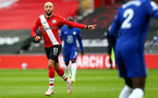 SOUTHAMPTON, ENGLAND - FEBRUARY 20: Nathan Redmond of Southampton during the Premier League match between Southampton and Chelsea at St Mary's Stadium on February 20, 2021 in Southampton, England. Sporting stadiums around the UK remain under strict restrictions due to the Coronavirus Pandemic as Government social distancing laws prohibit fans inside venues resulting in games being played behind closed doors. (Photo by Matt Watson/Southampton FC via Getty Images)