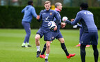 SOUTHAMPTON, ENGLAND - FEBRUARY 22: James Ward-Prowse during a Southampton FC training session at the Staplewood Campus on February 22, 2021 in Southampton, England. (Photo by Matt Watson/Southampton FC via Getty Images)