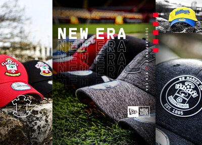 Explore the Saints New Era headwear range