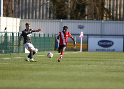 PL2 Report: Saints 1-2 Man Utd