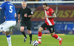 LIVERPOOL, ENGLAND - MARCH 01: Danny Ings of Southampton during the Premier League match between Everton and Southampton at Goodison Park on March 01, 2021 in Liverpool, England. Sporting stadiums around the UK remain under strict restrictions due to the Coronavirus Pandemic as Government social distancing laws prohibit fans inside venues resulting in games being played behind closed doors. (Photo by Matt Watson/Southampton FC via Getty Images)