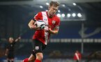 LIVERPOOL, ENGLAND - MARCH 01: James Ward-Prowse of Southampton during the Premier League match between Everton and Southampton at Goodison Park on March 01, 2021 in Liverpool, England. Sporting stadiums around the UK remain under strict restrictions due to the Coronavirus Pandemic as Government social distancing laws prohibit fans inside venues resulting in games being played behind closed doors. (Photo by Matt Watson/Southampton FC via Getty Images)