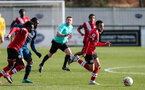 SOUTHAMPTON, ENGLAND - MARCH 06: Jayden Smith during the Premier League 2 match between  Southampton B Team and Arsenal at Snows Stadium on March 06, 2021 in Southampton, England. (Photo by Chris Moorhouse/Southampton FC via Getty Images)