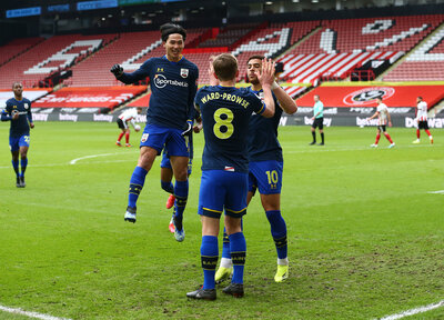 Gallery: Sheffield United 0-2 Saints