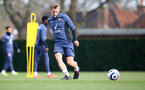 SOUTHAMPTON, ENGLAND - MARCH 08: James Ward-Prowse during a Southampton FC training session at the Staplewood Campus on March 08, 2021 in Southampton, England. (Photo by Matt Watson/Southampton FC via Getty Images)