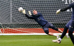 SOUTHAMPTON, ENGLAND - MARCH 17: Fraser Forster during a Southampton FC training session at Staplewood Campus on March 17, 2021 in Southampton, England. (Photo by Matt Watson/Southampton FC via Getty Images)