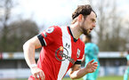 SOUTHAMPTON, ENGLAND - MARCH 21: Will Ferry of Southampton during the Premier League 2 match between Southampton B Team and Liverpool at the Snows Stadium on March 21, 2021 in Southampton, England.  (Photo by Isabelle Field/Southampton FC via Getty Images)