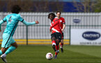 SOUTHAMPTON, ENGLAND - MARCH 21: Alex Janekewitz of Southampton during the Premier League 2 match between Southampton B Team and Liverpool at the Snows Stadium on March 21, 2021 in Southampton, England.  (Photo by Isabelle Field/Southampton FC via Getty Images)