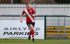 SOUTHAMPTON, ENGLAND - MARCH 21: Kameron Ledwidge of Southampton during the Premier League 2 match between Southampton B Team and Liverpool at the Snows Stadium on March 21, 2021 in Southampton, England.  (Photo by Isabelle Field/Southampton FC via Getty Images)