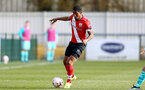 SOUTHAMPTON, ENGLAND - MARCH 21: Kayne Ramsay of Southampton during the Premier League 2 match between Southampton B Team and Liverpool at the Snows Stadium on March 21, 2021 in Southampton, England.  (Photo by Isabelle Field/Southampton FC via Getty Images)