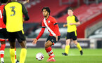 SOUTHAMPTON, ENGLAND - MARCH 23: Diamond Edwards of Southampton during the FA Youth Cup fourth round match between Southampton and Burton Albion at St Mary's Stadium on March 23, 2021 in Southampton, England. (Photo by Isabelle Field/Southampton FC via Getty Images)