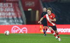 SOUTHAMPTON, ENGLAND - MARCH 23: Lewis Payne of Southampton during the FA Youth Cup fourth round match between Southampton and Burton Albion at St Mary's Stadium on March 23, 2021 in Southampton, England. (Photo by Isabelle Field/Southampton FC via Getty Images)