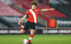 SOUTHAMPTON, ENGLAND - MARCH 23: Luke Pearce of Southampton during the FA Youth Cup fourth round match between Southampton and Burton Albion at St Mary's Stadium on March 23, 2021 in Southampton, England. (Photo by Isabelle Field/Southampton FC via Getty Images)