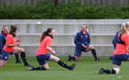 SOUTHAMPTON, ENGLAND - April 01: Shelly Provan during Southampton Women's training session at Staplewood Complex on April 01, 2021 in Southampton, England.  (Photo by Isabelle Field/Southampton FC via Getty Images)