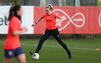 SOUTHAMPTON, ENGLAND - April 01: Kayla Rendall during Southampton Women's training session at Staplewood Complex on April 01, 2021 in Southampton, England.  (Photo by Isabelle Field/Southampton FC via Getty Images)
