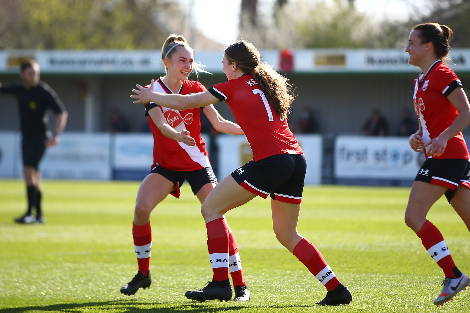 SOUTHAMPTON, ENGLAND - APRIL 04: during the Vitality Women's FA Cup second round match between Southampton Women and Plymouth Argyle Women at The Snows Stadium on April 04, 2021 in Southampton, England. (Photo by Isabelle Field/Southampton FC via Getty Images)
