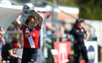 SOUTHAMPTON, ENGLAND - APRIL 04: Molly Mott of Southampton during the Vitality Women's FA Cup second round match between Southampton Women and Plymouth Argyle Women at The Snows Stadium on April 04, 2021 in Southampton, England. (Photo by Isabelle Field/Southampton FC via Getty Images)