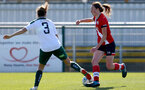 SOUTHAMPTON, ENGLAND - APRIL 04:Rachel Panting of Southampton during the Vitality Women's FA Cup second round match between Southampton Women and Plymouth Argyle Women at The Snows Stadium on April 04, 2021 in Southampton, England. (Photo by Isabelle Field/Southampton FC via Getty Images)