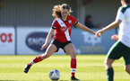 SOUTHAMPTON, ENGLAND - APRIL 04: Lucia Kendall of Southampton during the Vitality Women's FA Cup second round match between Southampton Women and Plymouth Argyle Women at The Snows Stadium on April 04, 2021 in Southampton, England. (Photo by Isabelle Field/Southampton FC via Getty Images)