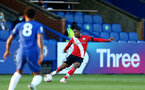 KINGSTON UPON THAMES, LONDON, ENGLAND - APRIL 12: Kayne Ramsay of Southampton during the Premier League 2 match between U23 Chelsea FC and Southampton B Team at the Kingsmeadow Stadium on April 12, 2021 in Kingston upon Thames, London, England.  (Photo by Isabelle Field/Southampton FC via Getty Images)