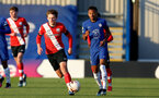 KINGSTON UPON THAMES, LONDON, ENGLAND - APRIL 12: Sam Bellis of Southampton during the Premier League 2 match between U23 Chelsea FC and Southampton B Team at the Kingsmeadow Stadium on April 12, 2021 in Kingston upon Thames, London, England.  (Photo by Isabelle Field/Southampton FC via Getty Images)