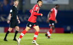 KINGSTON UPON THAMES, LONDON, ENGLAND - APRIL 12: Jayden Smith of Southampton during the Premier League 2 match between U23 Chelsea FC and Southampton B Team at the Kingsmeadow Stadium on April 12, 2021 in Kingston upon Thames, London, England.  (Photo by Isabelle Field/Southampton FC via Getty Images)