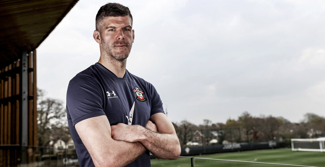 SOUTHAMPTON, ENGLAND - APRIL 14: Fraser Forster of Southampton pictured at the club's Staplewood Campus on April 14, 2021 in Southampton, England. (Photo by Matt Watson/Southampton FC via Getty Images)