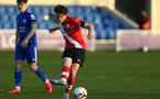 LEICESTER, ENGLAND - APRIL 19: Ethan Burnett of Southampton during the Premier League 2 match between Leicester City and Southampton B Team at the Leicester City Training Ground on April 19, 2021 in Leicester, England.  (Photo by Isabelle Field/Southampton FC via Getty Images)