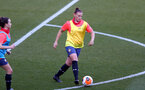 SOUTHAMPTON, ENGLAND - April 22: Shannon Siewright during Southampton Women's training session at St Mary's Stadium on April 22, 2021 in Southampton, England.  (Photo by Isabelle Field/Southampton FC via Getty Images)