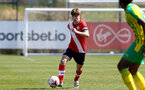 SOUTHAMPTON, ENGLAND - APRIL 24: Lewis Payne of Southampton during the Premier League U18s match between Southampton U18 and West Bromwich Albion at Staplewood Campus on April 24, 2021 in Southampton, England. (Photo by Isabelle Field/Southampton FC via Getty Images)