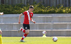 SOUTHAMPTON, ENGLAND - APRIL 24: Matt Carson of Southampton during the Premier League U18s match between Southampton U18 and West Bromwich Albion at Staplewood Campus on April 24, 2021 in Southampton, England. (Photo by Isabelle Field/Southampton FC via Getty Images)