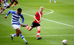 READING, ENGLAND - APRIL 27: Jem Hewlett (R) of Southampton during the Premier League U18s match between Reading and Southampton U18s at Bearwood Park Training Ground on April 27, 2021 in Reading, England. (Photo by Isabelle Field/Southampton FC via Getty Images)
