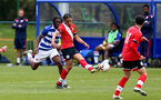 READING, ENGLAND - APRIL 27: Kami Doyle of Southampton during the Premier League U18s match between Reading and Southampton U18s at Bearwood Park Training Ground on April 27, 2021 in Reading, England. (Photo by Isabelle Field/Southampton FC via Getty Images)
