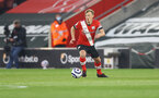SOUTHAMPTON, ENGLAND - APRIL 30: James Ward-Prowse of during the Premier League match between Southampton and Leicester City at St Mary's Stadium on April 30, 2021 in Southampton, England. Sporting stadiums around the UK remain under strict restrictions due to the Coronavirus Pandemic as Government social distancing laws prohibit fans inside venues resulting in games being played behind closed doors.  (Photo by Matt Watson/Southampton FC via Getty Images)