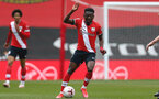 SOUTHAMPTON, ENGLAND - MAY 02: Kazeem Olaigbe of Southampton during the Premier League 2 match between Southampton B Team and Everton at the St Mayr's Stadium on May 02, 2021 in Southampton, England.  (Photo by Isabelle Field/Southampton FC via Getty Images)