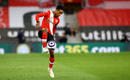SOUTHAMPTON, ENGLAND - MAY 11: Kyle Walker-Peters of during the Premier League match between Southampton and Crystal Palace at St Mary's Stadium on May 11, 2021 in Southampton, England. Sporting stadiums around the UK remain under strict restrictions due to the Coronavirus Pandemic as Government social distancing laws prohibit fans inside venues resulting in games being played behind closed doors.  (Photo by Matt Watson/Southampton FC via Getty Images)