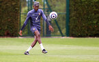 SOUTHAMPTON, ENGLAND - MAY 13: Moussa Djenepo during a Southampton FC training session at the Staplewood Campus on May 13, 2021 in Southampton, England. (Photo by Matt Watson/Southampton FC via Getty Images)