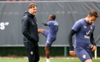 SOUTHAMPTON, ENGLAND - MAY 13: Southampton manager Ralph Hasenhüttl during a Southampton FC training session at the Staplewood Campus on May 13, 2021 in Southampton, England. (Photo by Matt Watson/Southampton FC via Getty Images)